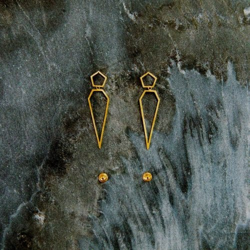 vaessen walker designer fairtrade handmade jewellery gold silver wedding engagement reading berkshire earrings