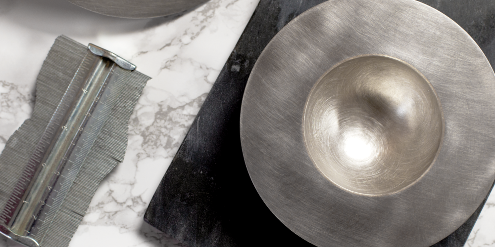 vaessen walker designer custom handmade jewellery fairtrade gold silver wedding engagement reading berkshire Arrora bowls