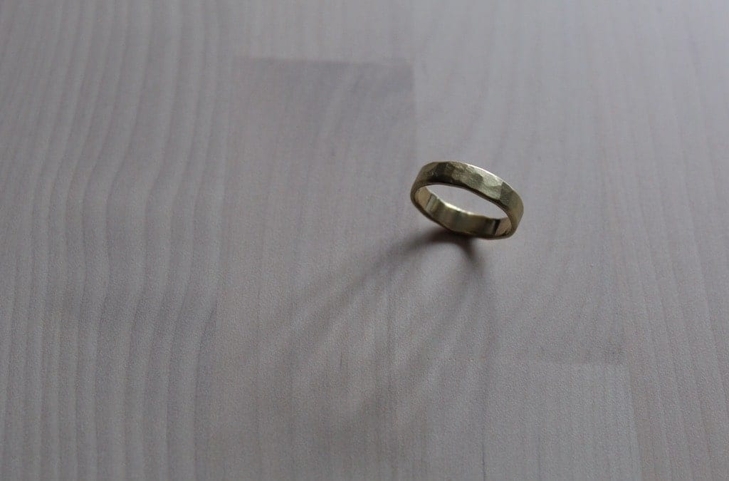 GWYN'S RUSTIC GOLD WEDDING RING
