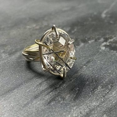Julia Thompson silver ring