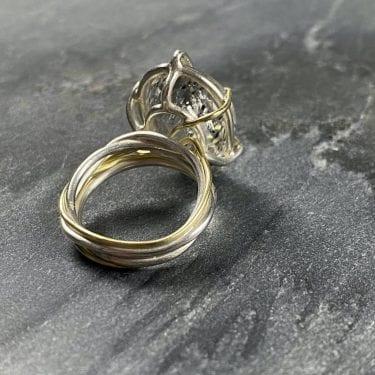 Julia Thompson silver ring